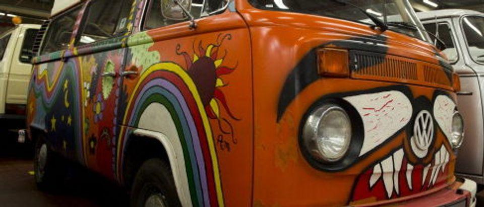 GERMANY-AUTO-HISTORY-VW-VAN
