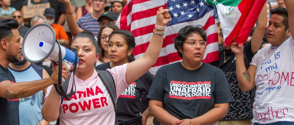 Activists wearing a t-shirt reading Undocumented and Unafraid -- ShutterStock -- Diego G. Diaz