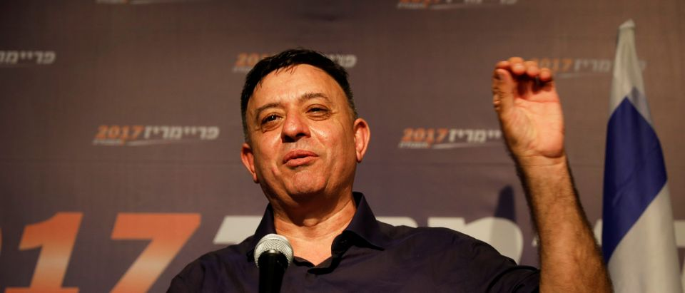 Avi Gabbay Delivers Victory Speech (Reuters, 06/12/18)