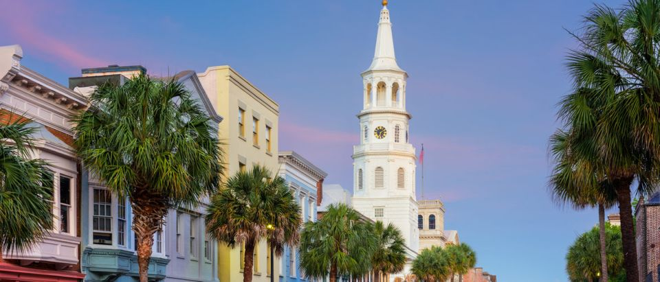 Charleston, South Carolina, USA in the French Quarter [Shutterstock/Sean P