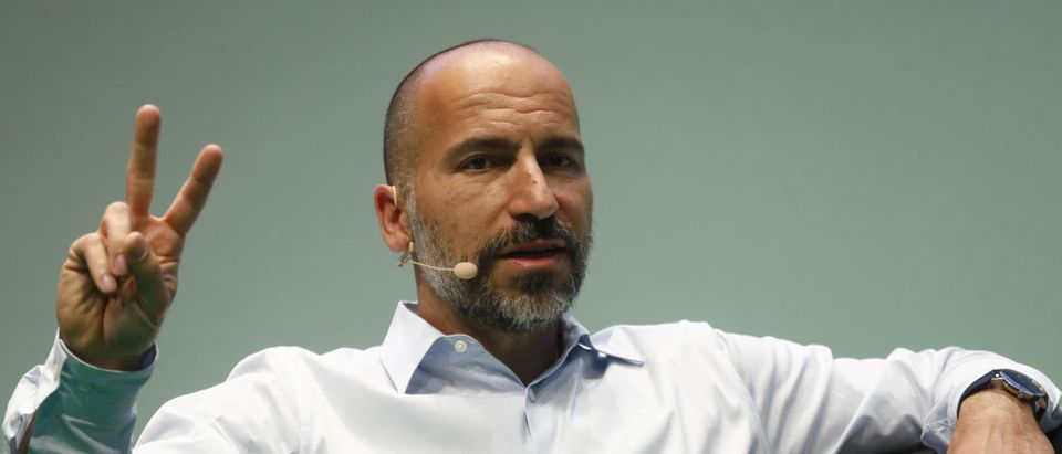 Dara Khosrowshahi, CEO of Uber, speaks at the 2018 NOAH conference on June 6, 2018 in Berlin, Germany. The annual conference brings together established start-ups leaders, entrepreneurs, investors and media. (Photo by Michele Tantussi/Getty Images)
