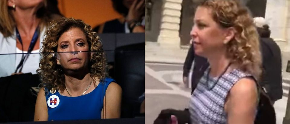 Debbie Wasserman Schultz (Photos: Mike Segar/Reuters and Kerry Picket/The Daily Caller)