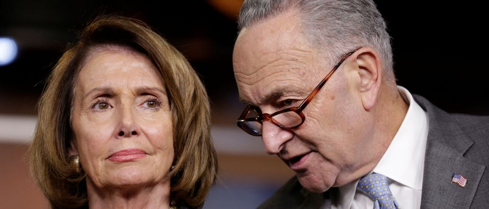 Democratic leaders Nancy Pelosi and Charles Schumer (Reuters, 06/18/18)