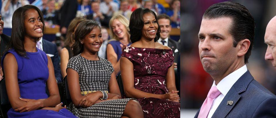 Donald Michelle Obama