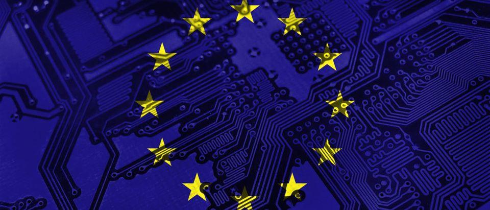 EU-Flag-Chip
