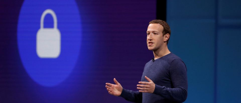 Facebook CEO Mark Zuckerberg speaks at Facebook Inc's annual F8 developers conference in San Jose, California, U.S. May 1, 2018. REUTERS/Stephen Lam