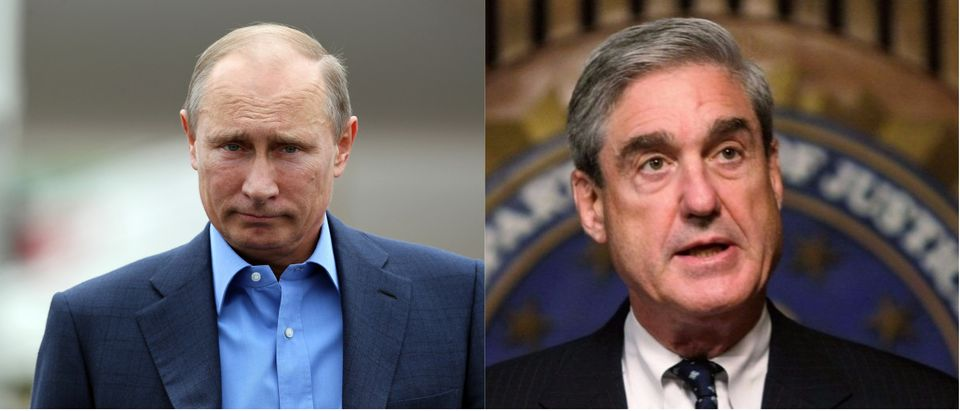 Mueller and Putin Getty Images/WPA/Pool, Getty Images/Alex Wong