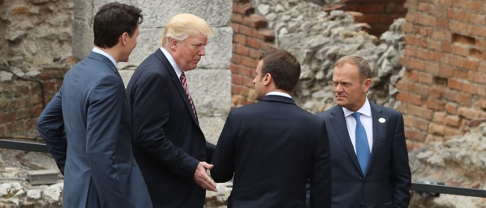 G7 Leaders Meet In Sicily