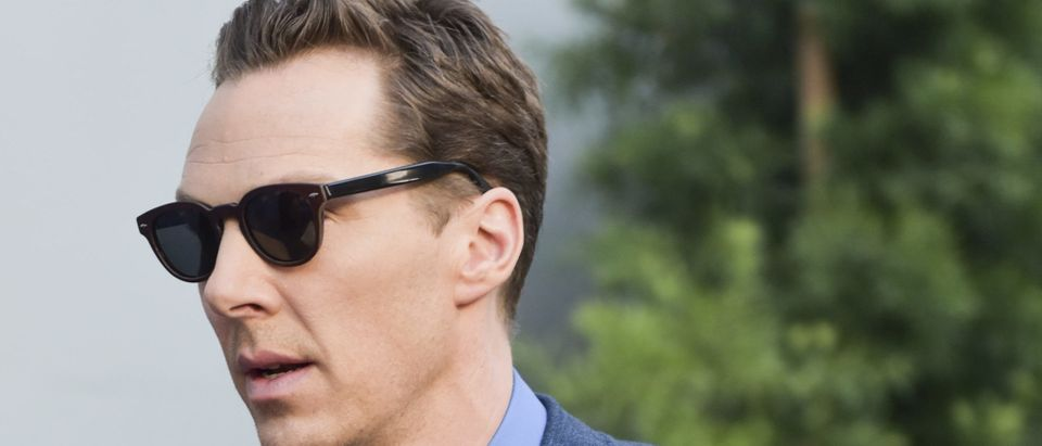 Benedict Cumberbatch attends a media event. (Rodin Eckenroth/Getty Images)