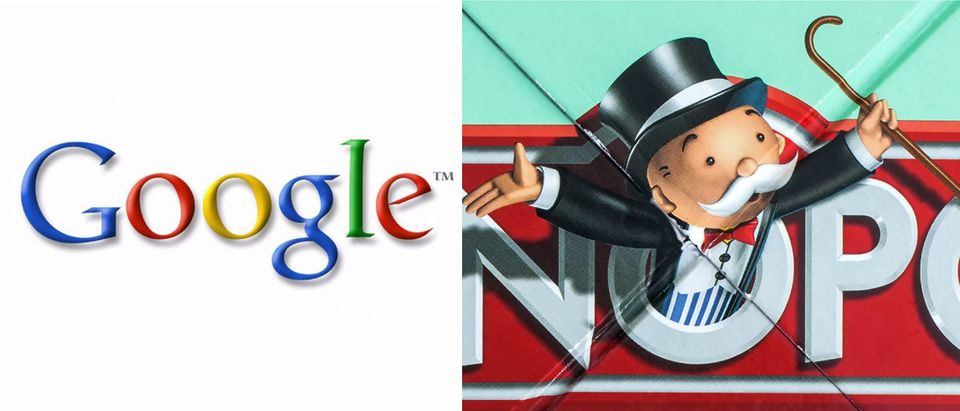Google monopoly AFP/Getty Images, Shutterstock/urbanbuzz