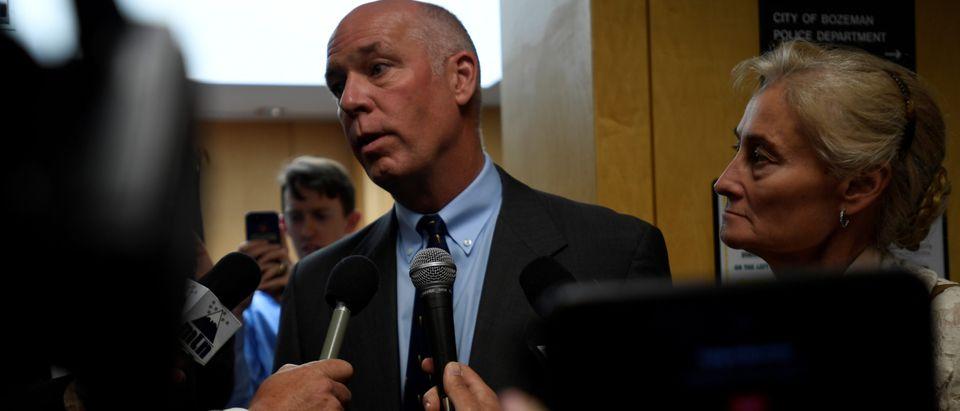 Montana Republican congressman-elect Greg Gianforte appears in court in Bozeman