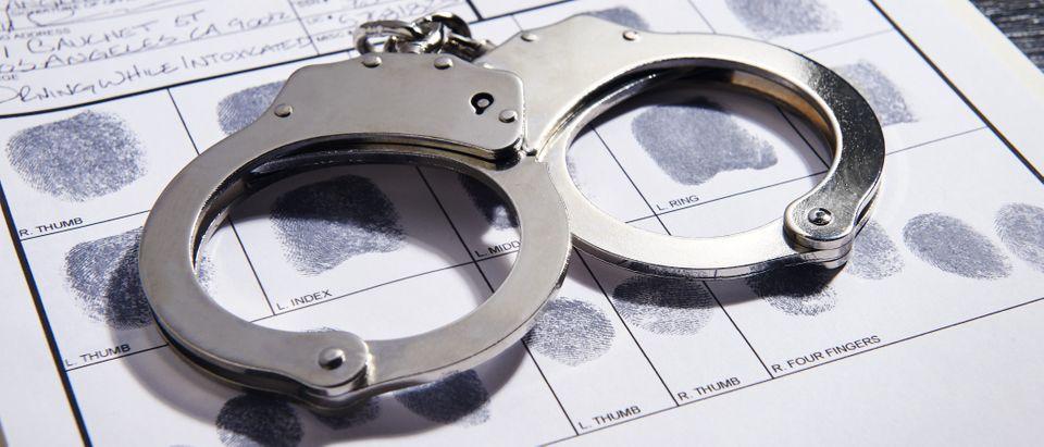 Handcuffs (Shutterstock/J Dennis)