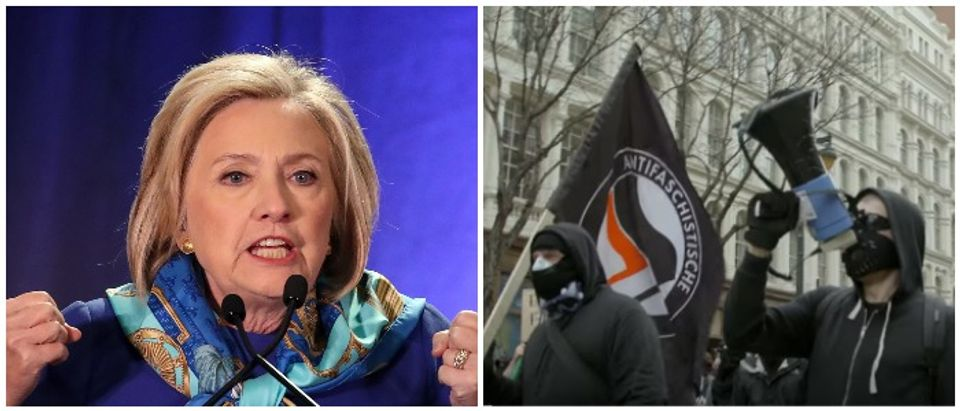 Hillary Antifa photo