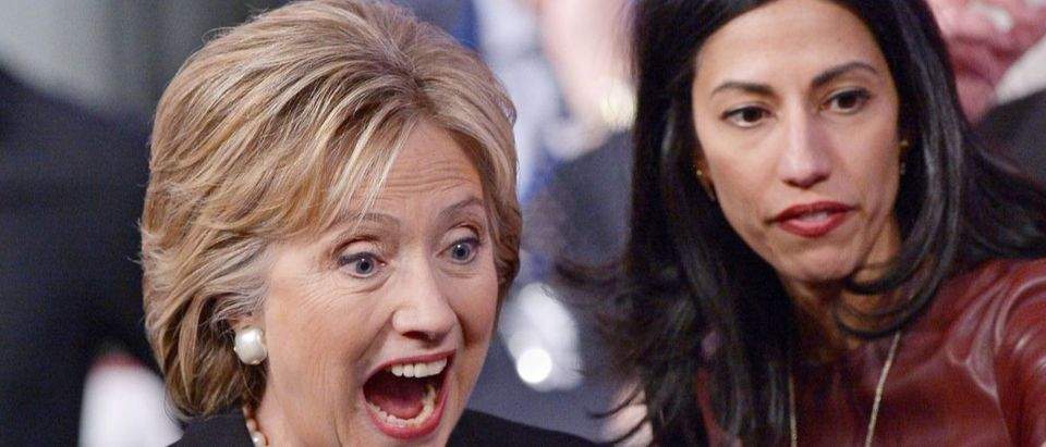Huma Abedin and Hillary Clinton Getty Images Mandel Ngan