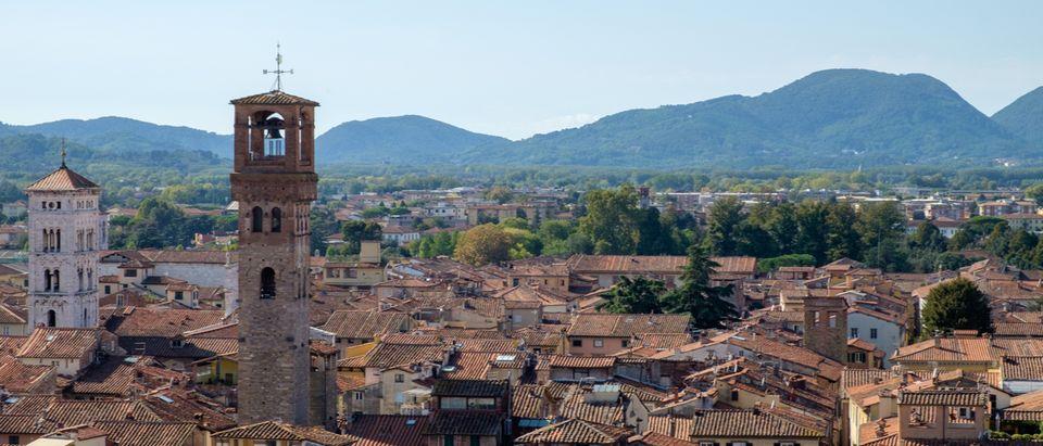Italian church survives landslide