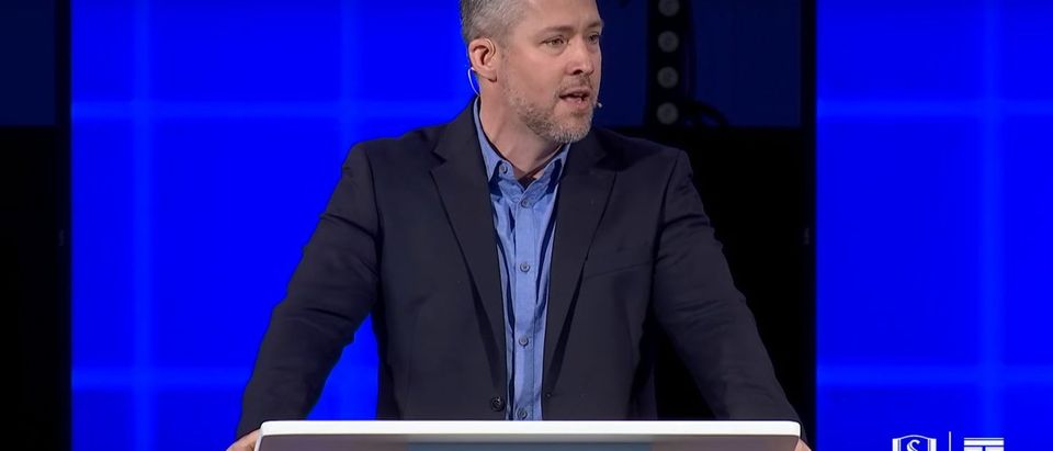 The Southern Baptist Convention elected J.D. Greear as president Tuesday, signaling Southern Baptist's willingness to embrace massive cultural changes. (Youtube screenshot/ Southeastern Baptist Theological Seminary)