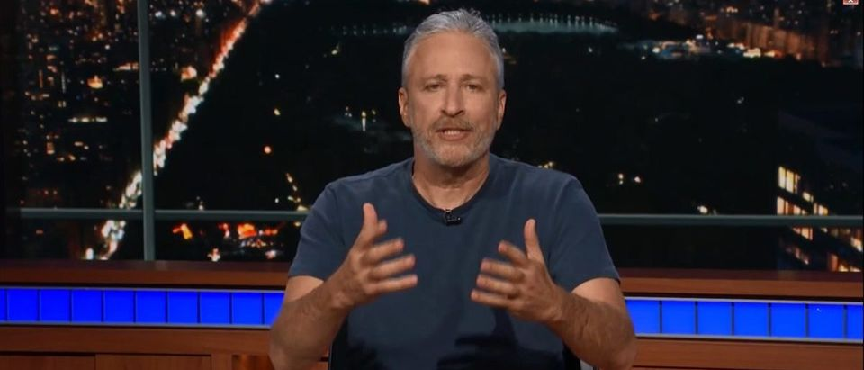 Jon Stewart Comes Out Of Hiding To Bash President Trump On 'The Late Show' -- CBS -- 6-29-18