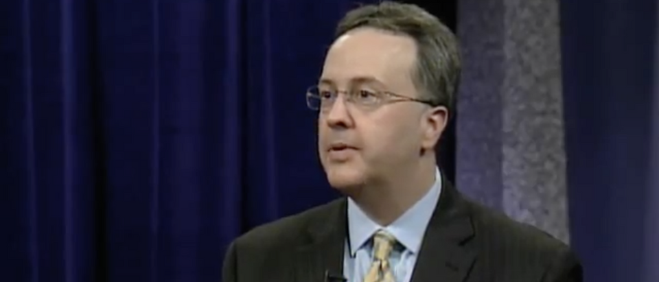 Justice Allen Loughry speaks on public television in 2013. (YouTube Screenshot/West Virginia Public Broadcasting)