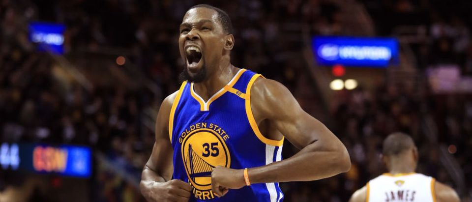Kevin Durant (Photo by Ronald Martinez/Getty Images)
