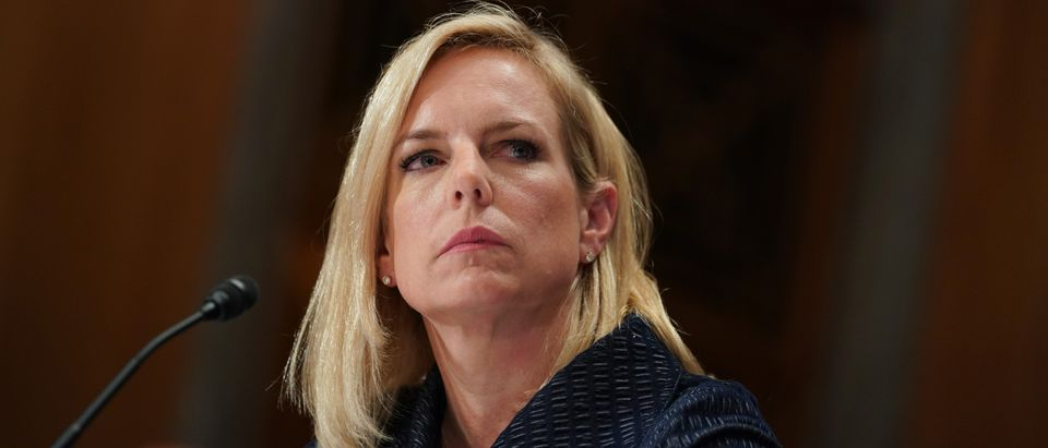DHS Secretary Nielsen testifies before Senate Homeland Security and Governmental Affairs Committee hearing in Washington