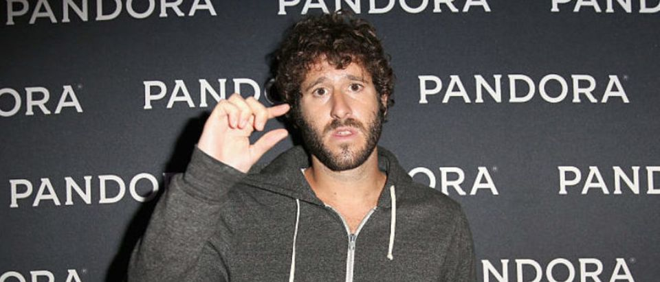 AUSTIN, TX - MARCH 18: Rapper Lil Dicky attends the PANDORA Discovery Den SXSW on March 18, 2016 in Austin, Texas. (Photo by Rachel Murray/Getty Images for Pandora)