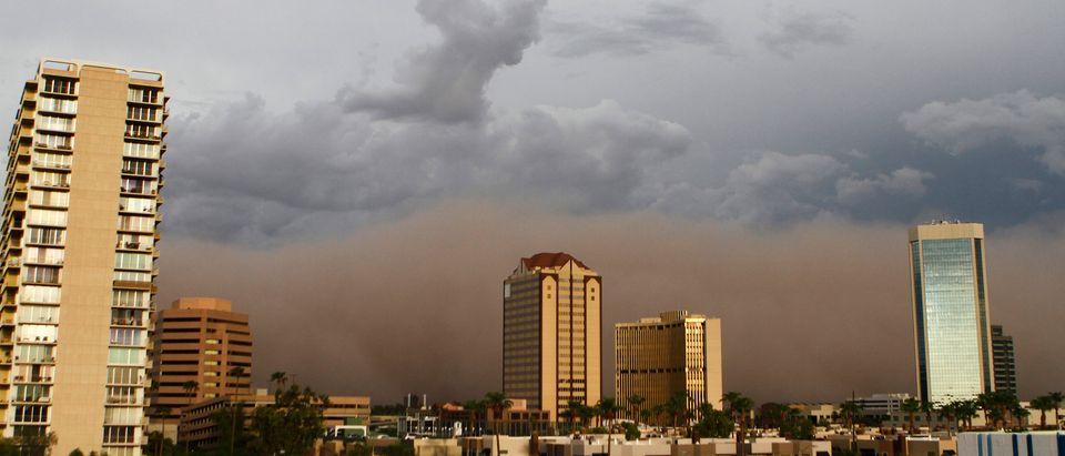 Maricopa County's largest city, Pheonix (Reuters, 06/26/18)