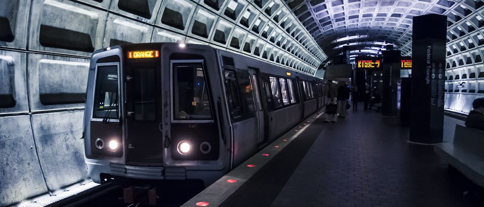 Washington D.C., USA - 17 March, 2009: Interior of the metro system in the national capitol during non-peak hours. Baiterek Media/Shutterstock