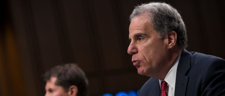 Michael Horowitz, inspector general of the U.S. Department of Justice, is pictured. (Photo by Drew Angerer/Getty Images)