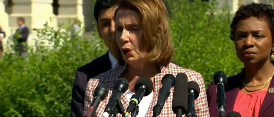 Nancy Pelosi (Youtube screenshot/ William Hernandez)
