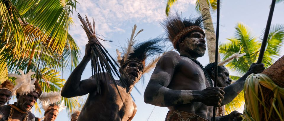 New Guinea Tribesmen (Shutterstock/Sergey Uryadnikov)
