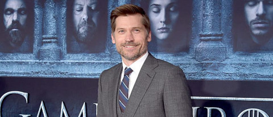 HOLLYWOOD, CALIFORNIA - APRIL 10: Actor Nikolaj Coster-Waldau attends the premiere of HBO's 'Game Of Thrones' Season 6 at TCL Chinese Theatre on April 10, 2016 in Hollywood, California. (Photo by Alberto E. Rodriguez/Getty Images)