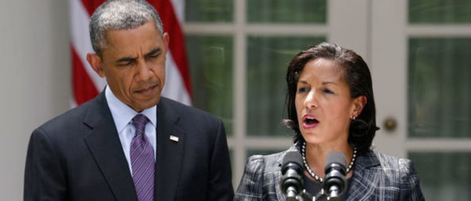 "Former President Barack Obama's cybersecurity czar confirmed Wednesday that former national security adviser Susan Rice told him to ""stand down"" in response to Russian cyber attacks during the 2016 presidential campaign. (REUTERS)"