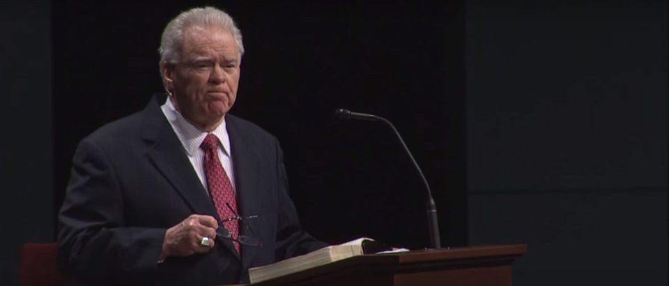 Paige Patterson Message delivers a message (Youtube Screenshot/Southwestern Baptist Theological Seminary)