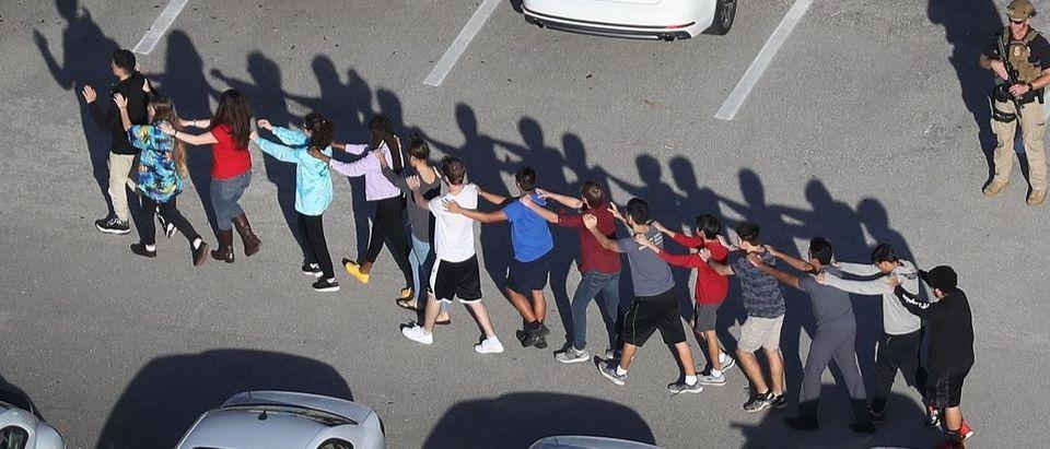 Parkland Florida school shooting Getty Images/Joe Raedle