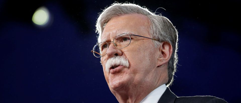 Former U.S. Ambassador to the United Nations John Bolton speaks at the Conservative Political Action Conference (CPAC) in Oxon Hill, Maryland