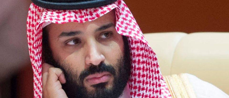 Saudi Arabia's Crown Prince Mohammed bin Salman attends during the 29th Arab Summit in Dhahran, Saudi Arabia April 15, 2018. Bandar Algaloud/Courtesy of Saudi Royal Court