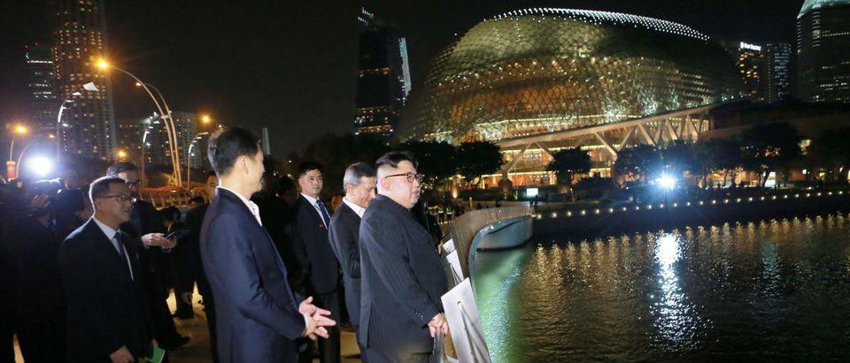 North Korea's leader Kim Jong Un visits Singapore