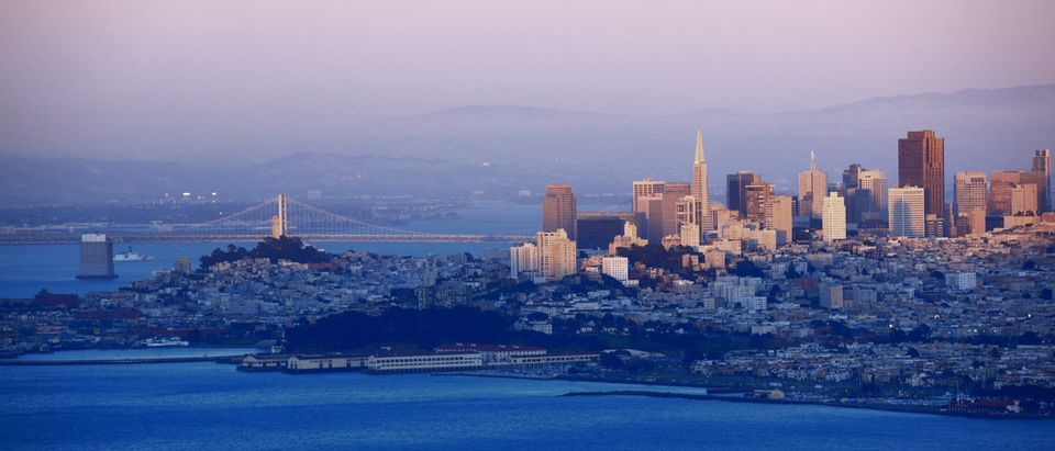 Evening shot of San Fransisco (Shutterstock/S.R.Lee Photo Traveller)