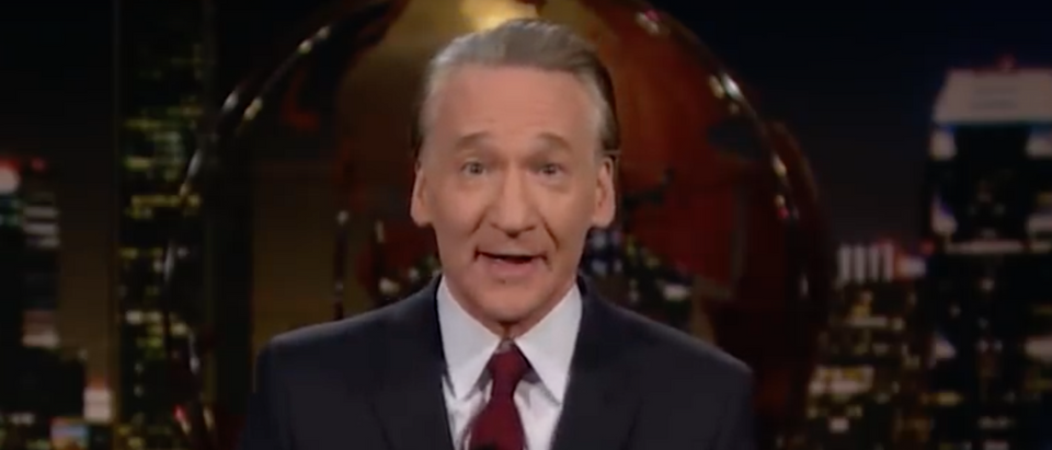 Bill Maher defends Trump-Orangutan joke./Screenshot