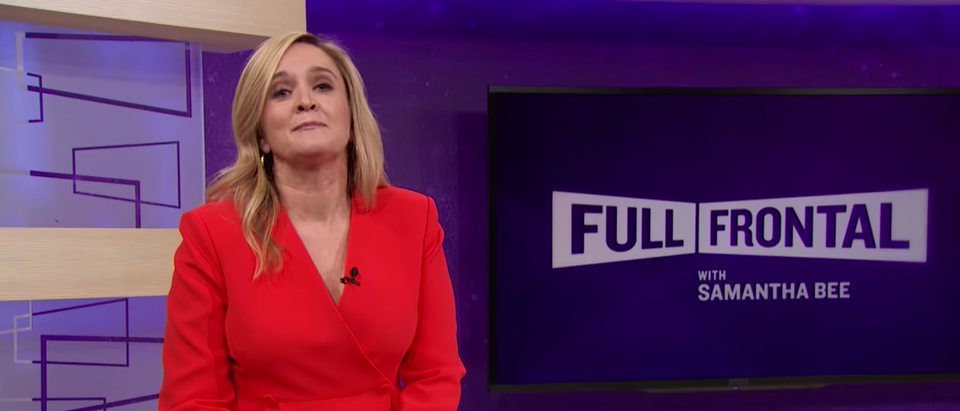 You Tube Video Screen Shot (Full Frontal With Samantha Bee)