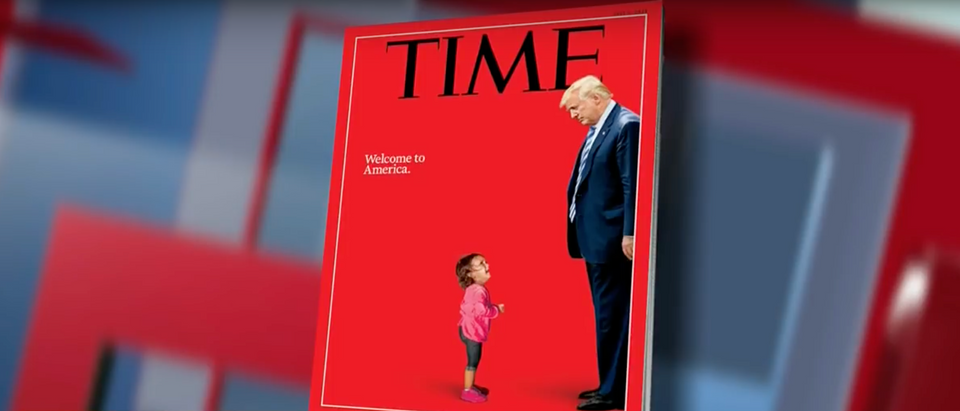 A CNN panel discussed Time magazine's misleading cover (CNN 6/22/2018)