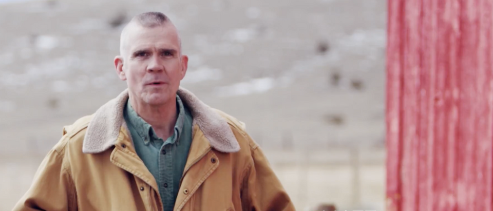 Screen Shot:Matt Rosendale:Youtube:'Stepped In It' Campaign Ad