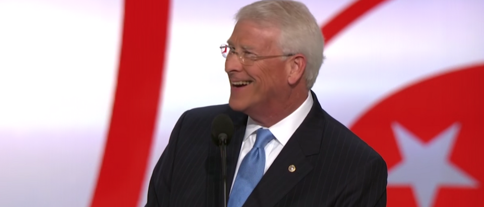Republican Sen. Roger Wicker of Mississippi speaking at 2016 Republican National Convention. (Screenshot, YouTube)