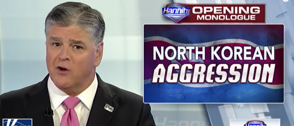 President Donald Trump will conduct his first sit-down television interview with Fox News anchor Sean Hannity after his historic summit with North Korean dictator Kim Jong Un, according to a Monday report. Screen Shot:Youtube:Sean Hannity:Fox News