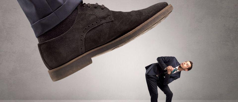 Shoe_Step_On_Man