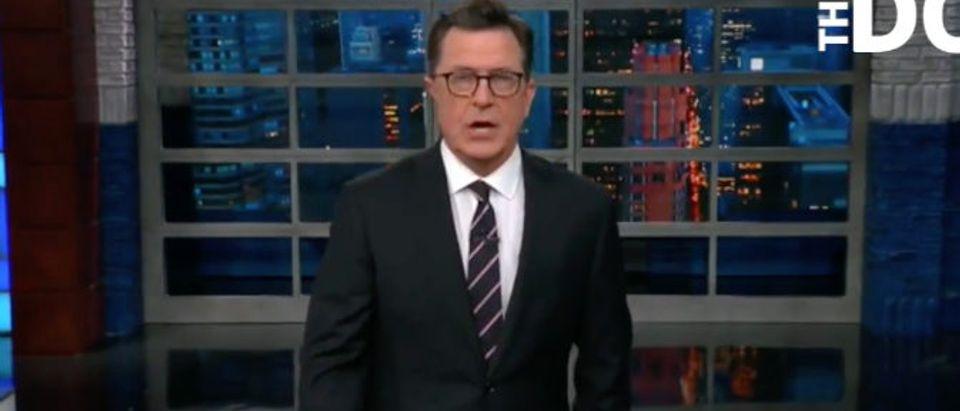 Stephen Colbert DailyCaller Youtube screenshot