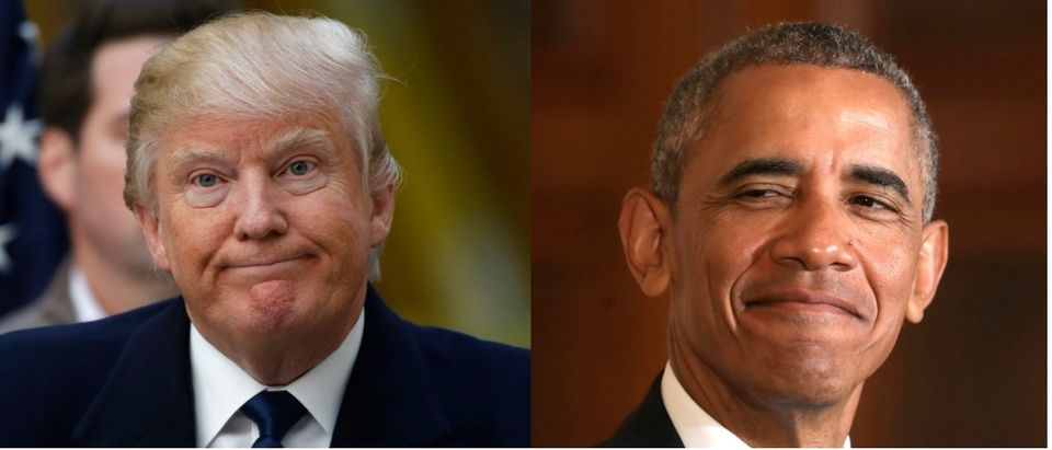 Trump and Obama Reuters/Jim Bourg, Getty Images/Chip Somodevilla