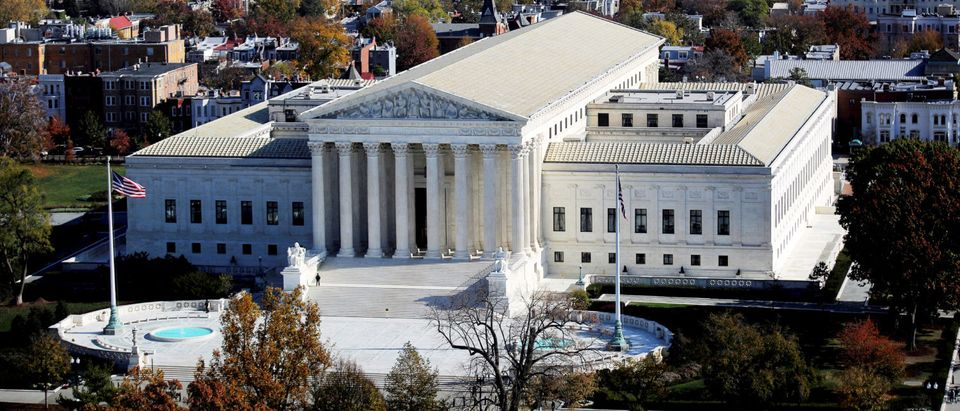 FILE PHOTO: A general view of the U.S. Supreme Court building in Washington