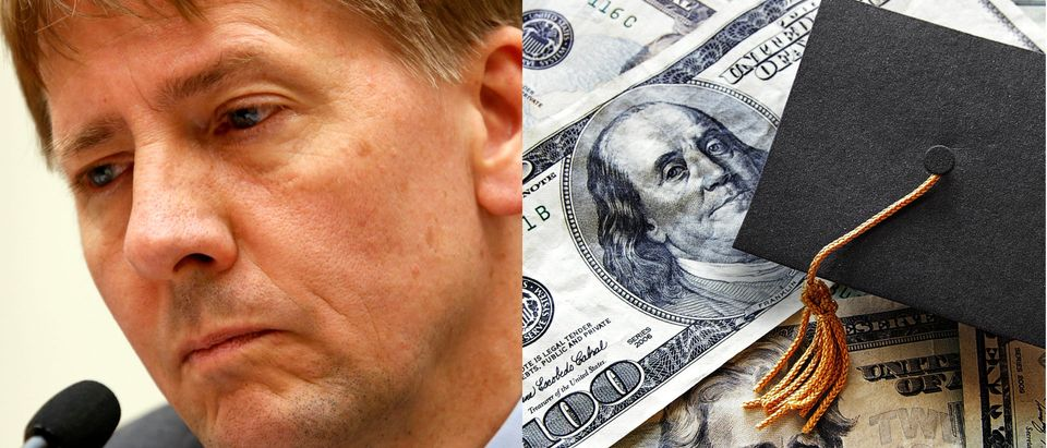 Former CFPB Director's Legacy of Overreach should be Brought to Light, Reuters and Shutterstock/ By zimmytws and Yuri Gripas