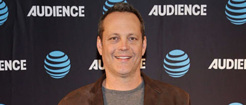 PASADENA, CA - JANUARY 05: Actor Vince Vaughn attends AT&T AUDIENCE Network Presents at 2017 Winter TCA at Langham Hotel on January 5, 2017 in Pasadena, California. (Photo by Phillip Faraone/Getty Images for DIRECTV)